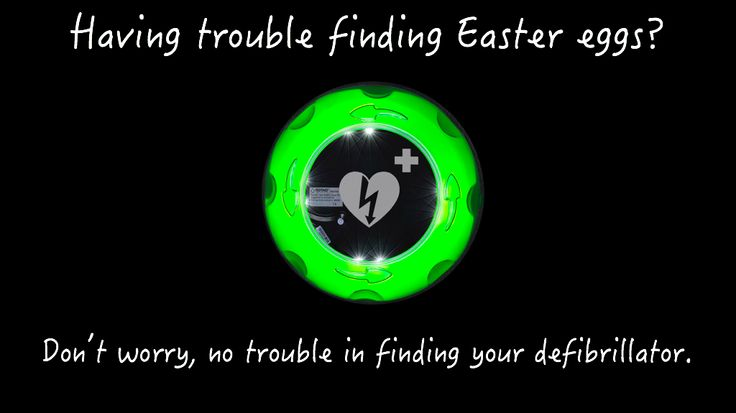 rotaidaedcabinets Having trouble finding Easter eggs? Don't worry, no trouble in finding your defibrillator. #easter #eastereggs #spring #find #love #heart #aedlogo #green #easterbunny #eggs #egghunt #joyeusespaques #happyeaster #froheostern #godpåske #gladpåsk #vrolijkpasen #defib #defibrillator #aed #aedcabinets #marketing #creative #creativemarketing #like #follow
