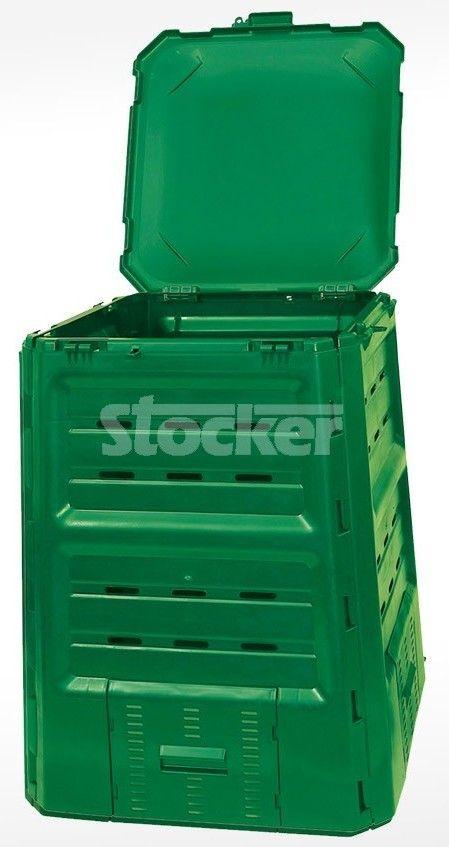 STOCKER COMPOSTIERA COMPOSTER CONTENITORE PER COMPOSTAGGIO TERMOQUICK LT. 680 COMPOSTER http://www.decariashop.it/compostiere/15656-stocker-compostiera-composter-contenitore-per-compostaggio-termoquick-lt-680-composter.html