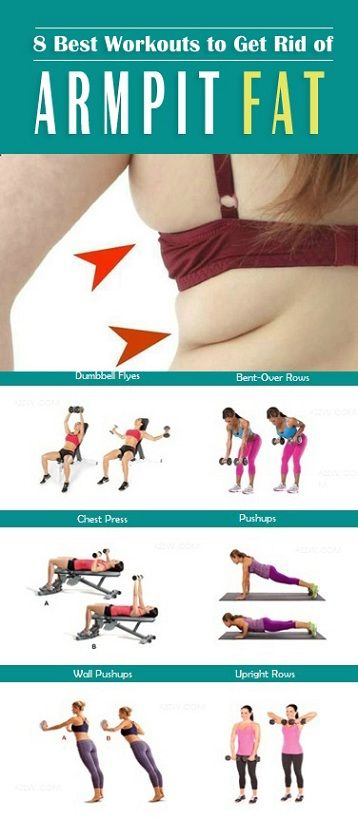 Armpit fat is the excess fat growing under your arms that can make your clothes look strange on you. You may not feel