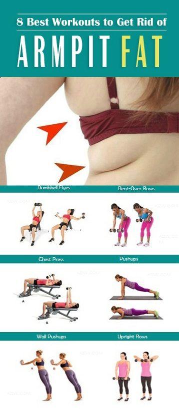 111 best armpit fat images on Pinterest   Ab exercises Ab ...