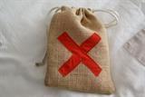 Pirate party pack- burlap sack