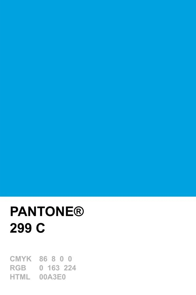 pantone 299 swatch google search