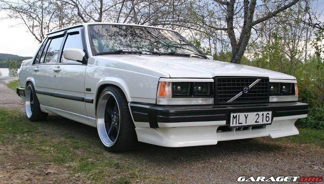 Volvo 740 styling