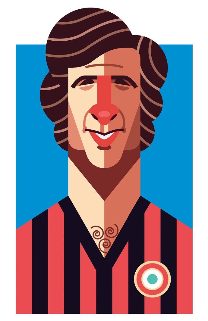 FOOTBALL | MILAN AC ■ Giovanni RIVERA dit Gianni RIVERA est un ancien footballeur Italien