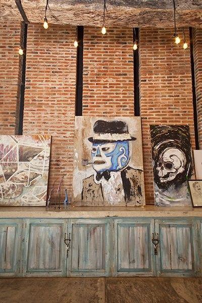Arquitectura de interiores. Restaurant CORAZON OAXAQUEÑO