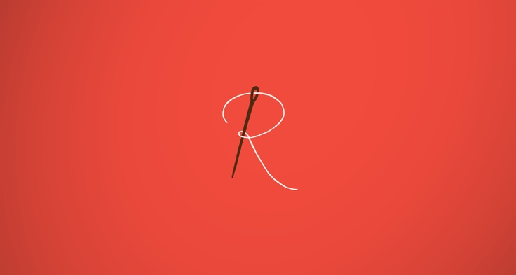 Rosalyn Custom Totes Logo: One of my favorite logos I've come across recently