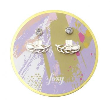 Grenada Earrings in Silver - available in gold and silver.$24.00 Get 25% off these earrings with coupon code 'foxy pin' www.foxyoriginals... #silverjewelry, #silverearrings, #foxyoriginals, #earjackets, #sistergift, #silverearjackets, #jewelrygift, #cutepackaging, #holidaygift, #birthdaygift, #momgift, sister gift, jewelry gift, best friend gift, holiday gift, teenager gift, birthday gift, silver jewelry, cute packaging, gold packaging