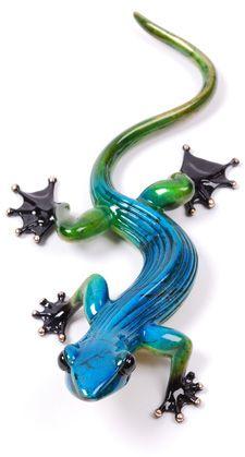 Frogman, Ziggy - Geckos by Tim Cotterill