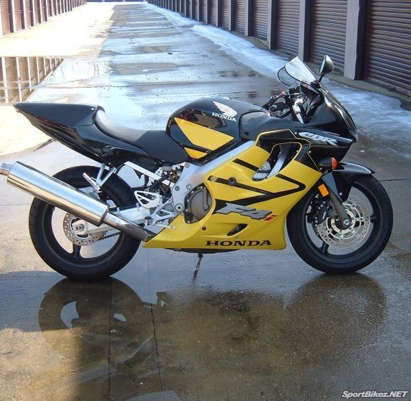 Honda CBR600F4i black & yellow