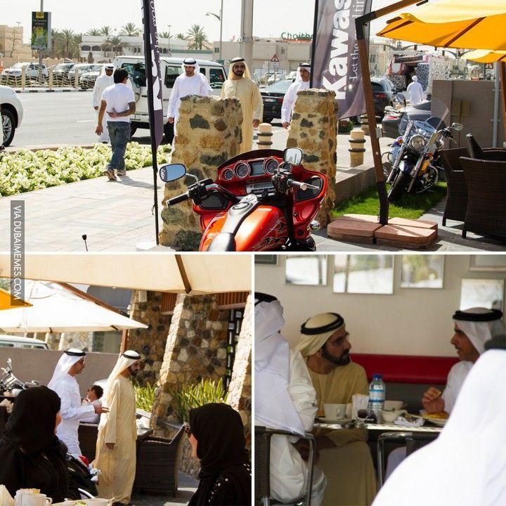 His Highness Sheikh Mohammed bin Rashid Al Maktoum, casually having a lunch in Cafe in Dubai  #dubai #onlyindubai #dubaiproblems #dxb #dubailife #uae #mydubai #sharjah #abudhabi #alain #dubaiexpat #dubaimemes #dubaimall #myuae