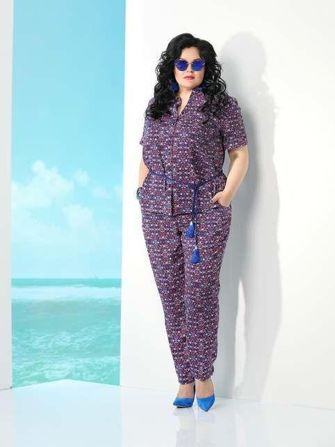 Коллекция женской одежды больших размеров белорусского бренда «Твой имидж», лето 2017