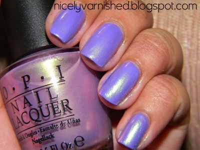 OPI SIGNIFICANT OTHER COLOR OVER COLOR CLUB
