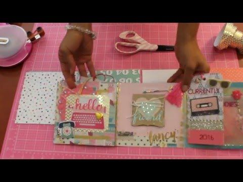 Flip Book Tutorial! EASY!! 2016 Snail Mail Swap w/a friend - YouTube