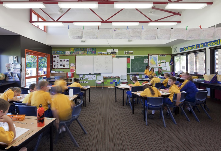 Modern Primary School Classroom ~ Chinchilla christian school architecture education