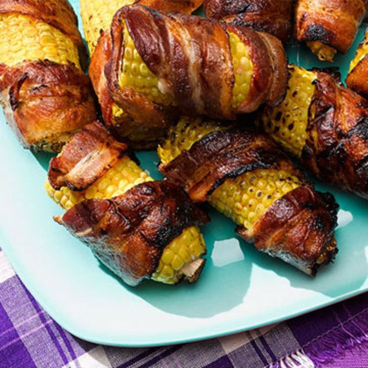 332 best game day recipes images on pinterest every day gaming grilled bacon wrapped corn on the cob rachael ray every day ccuart Choice Image