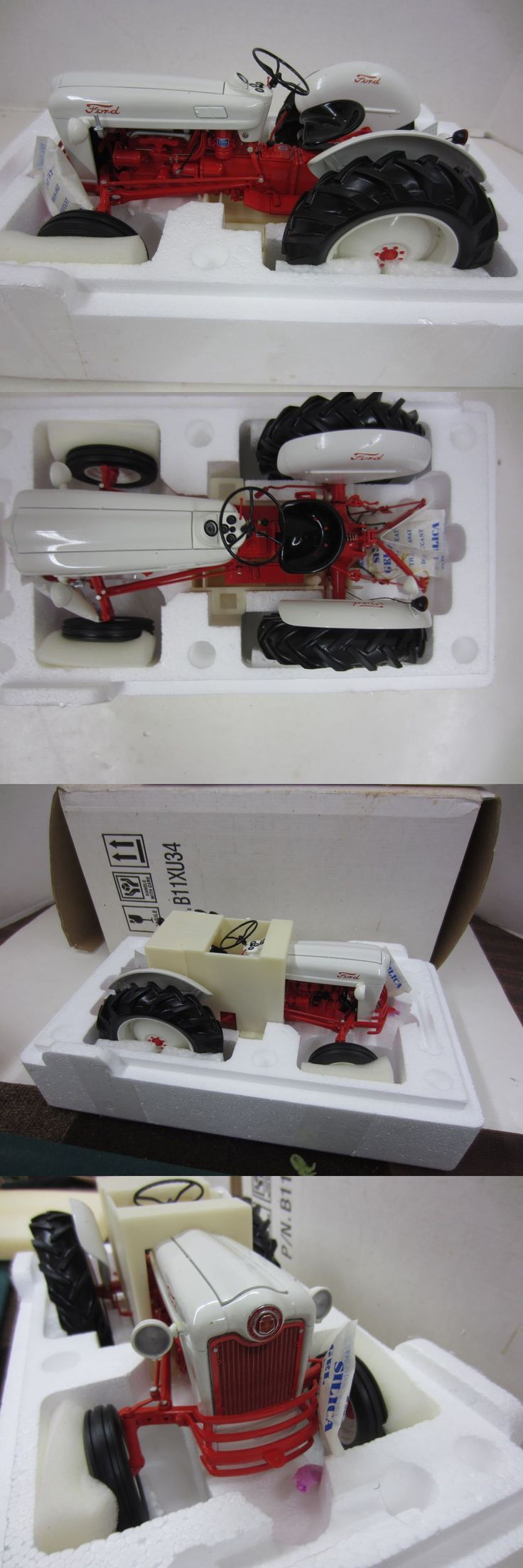 Contemporary Manufacture Franklin Mint 1953 Ford Jubilee Tractor 1 12 Scale Die