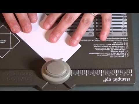 *stampin'up* tuto: jolie étiquette avec l'insta-enveloppe de stampin'up