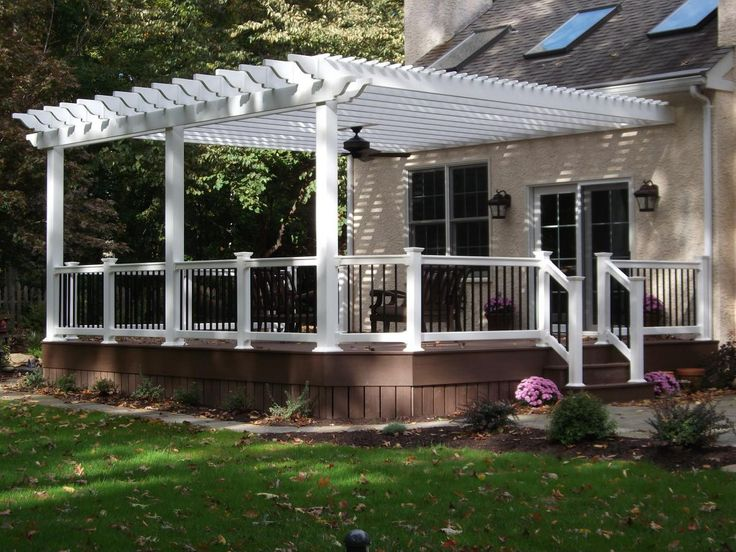 Decks with Gazebos Decks with Pergolas Porch Decks