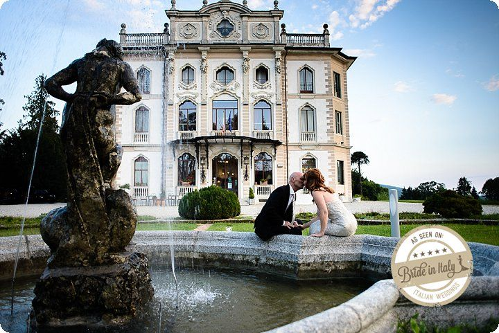 Villa Borghi, Varese. The thing I like about those mansions, is the fact that you can have your whole wedding (getting ready, ceremony, reception) all into the same place. Ph Emanuele Capoferri http://www.brideinitaly.com/2013/12/capoferri-villa-borghi.html #elegant #italianstyle #wedding