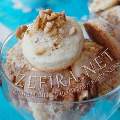 Песочное печенье с грецкими орехами — Кулинарные рецепты любящей жены