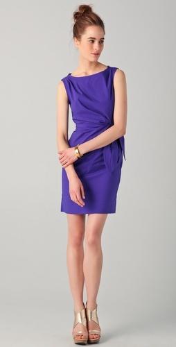 Della Dresses, Purple Dresses, Engagement Parties, Elegant Bridesmaid Dresses, Blue Dresses, Dresses Thestylecurecom, Day Dresses, Diane Von Furstenberg, Royal Blue