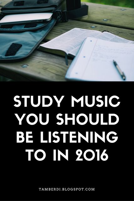 Study Music You Should Be Listening to In 2016    There are two types of people in this world-those who can study with music and those who cannot. This list is technically for those who can and enjoy doing so but I think these are great for any time whether you're showering or heading home!  1. Moon- RXN  This is an old favorite of mineand I don't know that I'll ever get tired of it. Maybe I just like songs I know when studying...This is good regardless.  2.Awake-Tycho  Give it a go.  3…