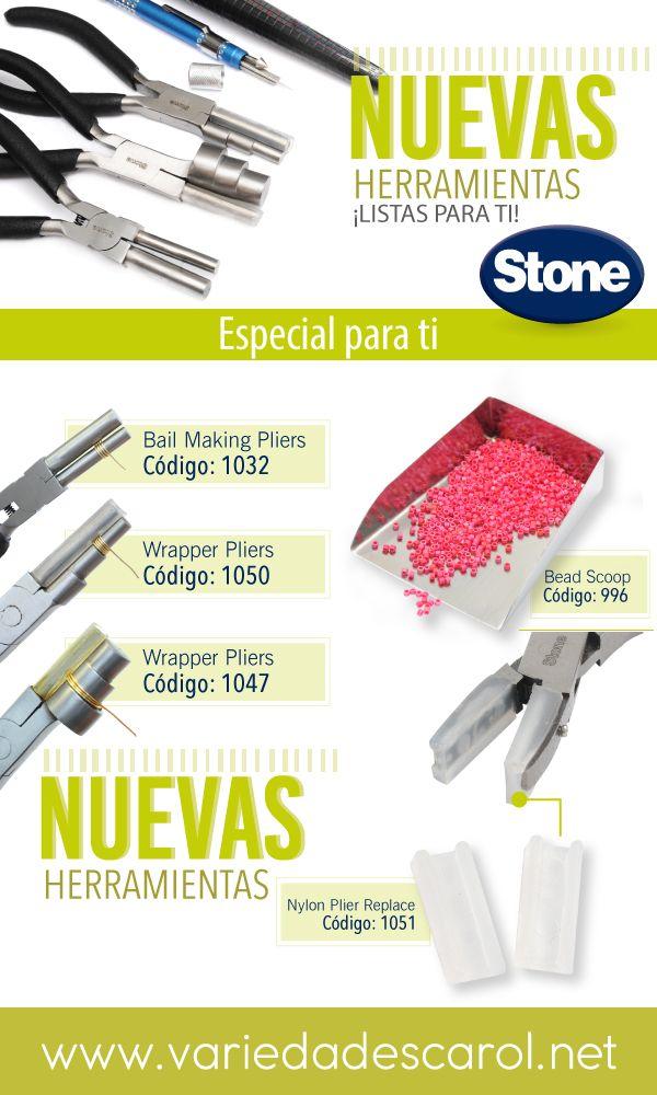 Somos La Tienda Oficial De Herramientas Stone Encuentra Los Mejores Insumos Para Bisutería En Www Varie Herramientas De Joyeria Bisuteria Bisuteria Materiales