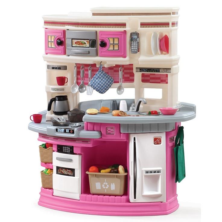 Step2 Lifestyle Legacy Kitchen Set Pink Step 2