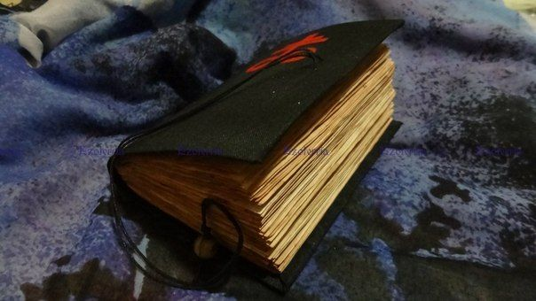 Книга Теней Сульфур. Бумага для неё вымочена в бычьей крови