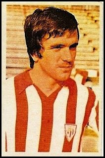Dani. Athletic Club de Bilbao. Cromos Ruiz Romero. Temporada 1976-77.
