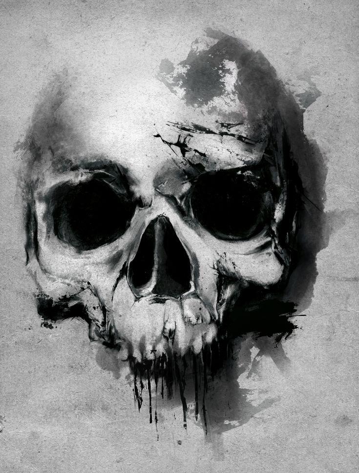 Skull no2 #skull #skullart