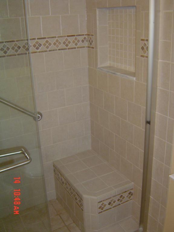 David Instead Of Drop Down Bench Seat Bathroom Remodel Shattalon Area Winston Salem
