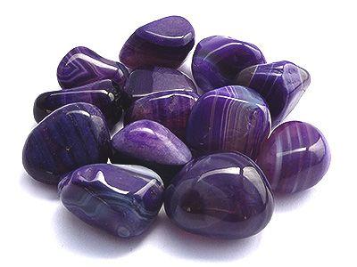 Purple Agate Stone