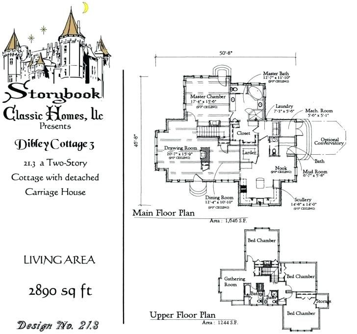 Oconnorhomesinc Com Lovely Fairy Cottage House Plans Fairytale Storybook Best Of From Home Design In 2020 Storybook House Plan Storybook Homes Storybook Cottage