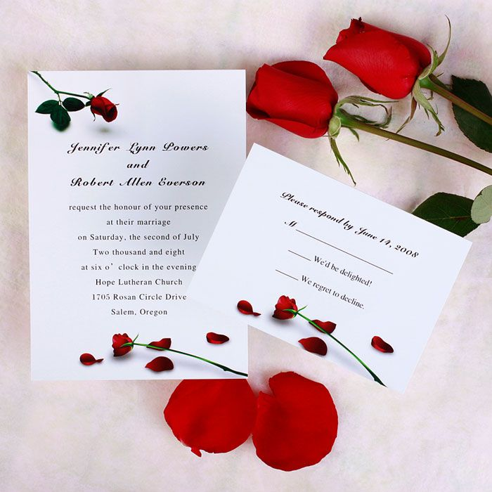 Floral Wedding Invitations A Touch To Your Celebration Rose The Epitome Of Romantic Stationery