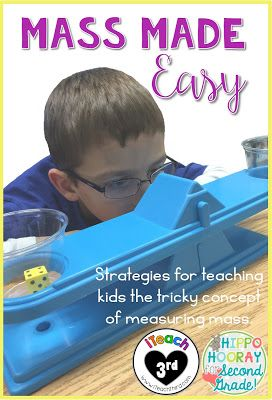 This resource breaks down how to introduce the concept of mass of weight, and how to incorporate real-world objects into the lesson
