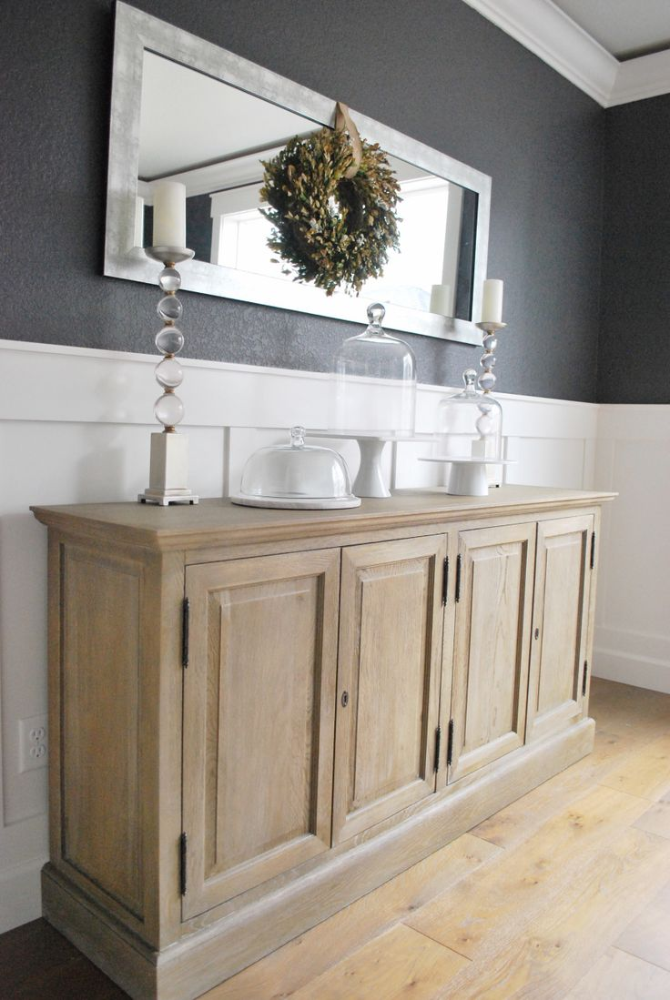 We Are Over The Moon With Our New Sideboard Cabinet From Restoration  Hardware! The Color