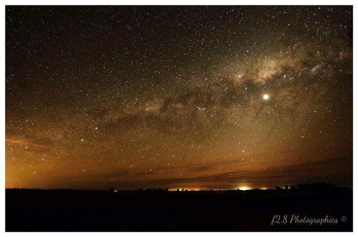 Clare Valley, Night Sky, South Australia.