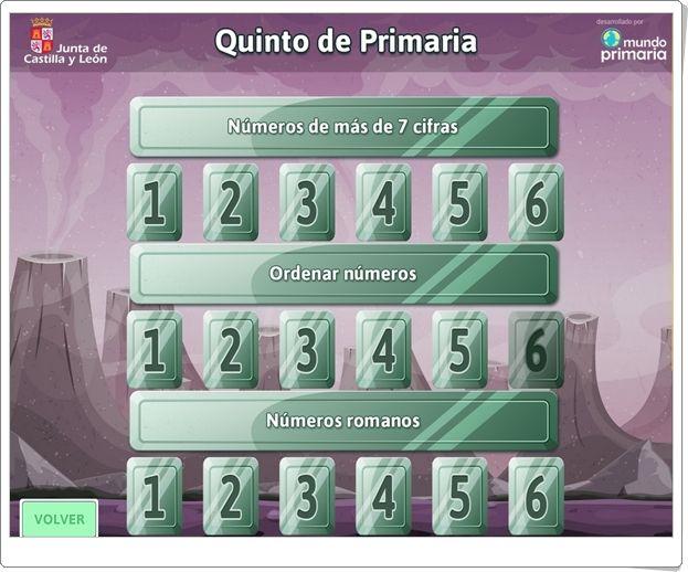 """""""Matespacial 5"""" (Juegos de Matemáticas de Verano de 5º de Primaria)"""