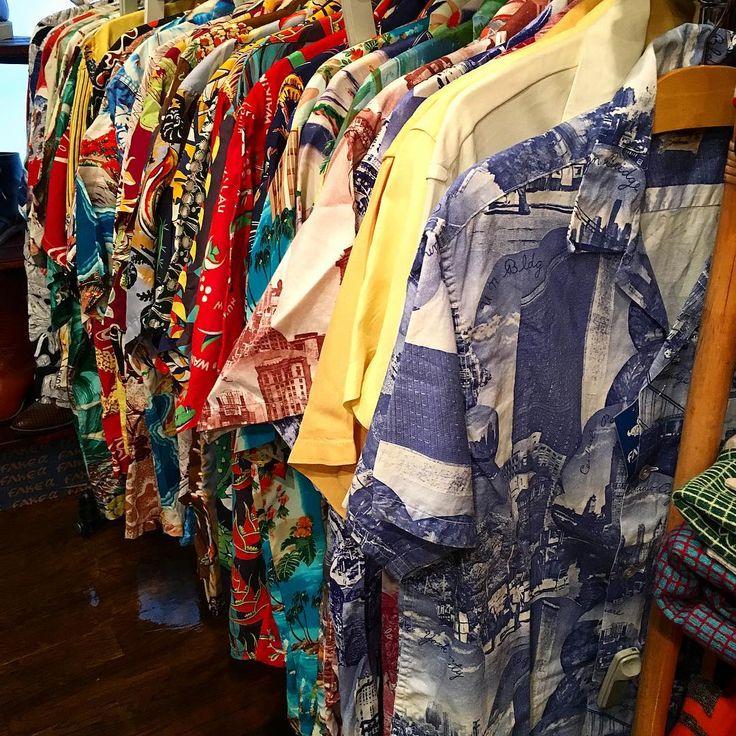 """""""HAWAIIAN SHIRT #vintage #vintageclothing  #hawaiianshirt#hawaiian #aloha#alohashirt#hawaii #1950s#50s#rockabilly #tokyo #harajuku #fakeα"""""""