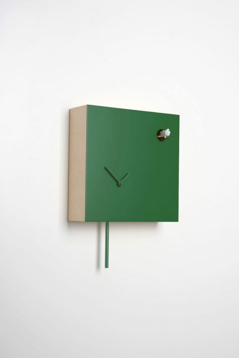 Square modern Cuckoo clock