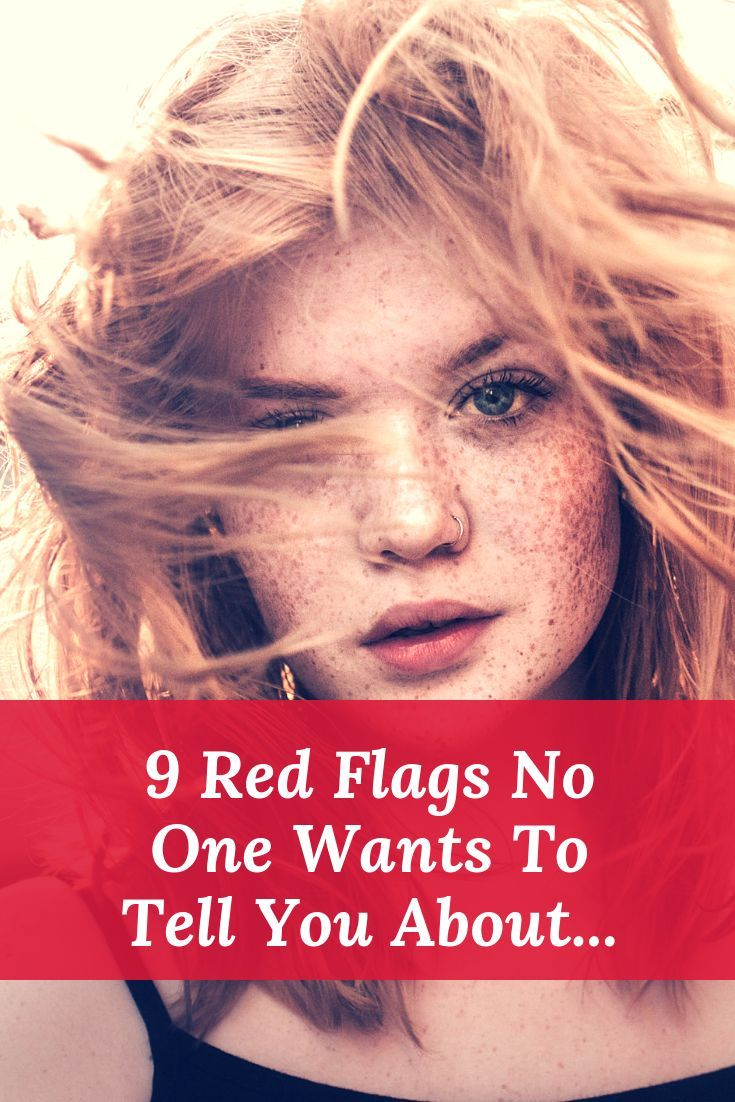 Red guys for relationship flags 10 Dating