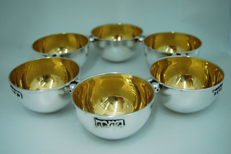 sterling silver Passover plate unique modern design by STUBSILVERWARE on Etsy