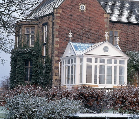 The late Victorian / early Edwardian era brought an interesting introduction of decorative flourishes, borrowing styles from a number of historical periods. The Edwardian conservatories seen here are typical examples and incorporate many such features.