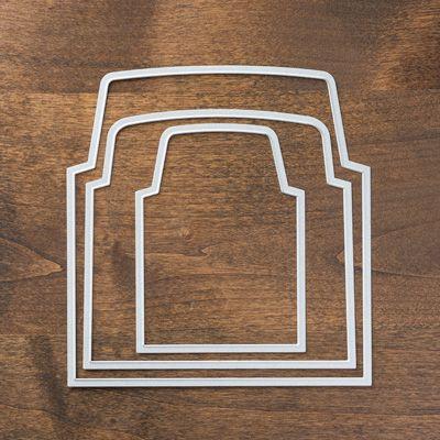 Envelope liner framelits discount of 25% Visit: http://www3.stampinup.com/ECWeb/ProductDetails.aspx?productID=132218&dbwsdemoid=4000941 to buy yours today #stampinup #envelopeframelits