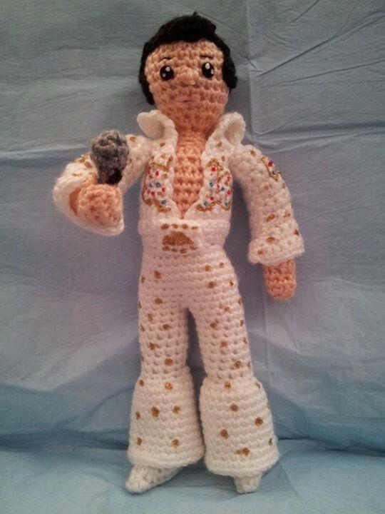 The king of rock Elvis Presley Amigurumi Pinterest ...