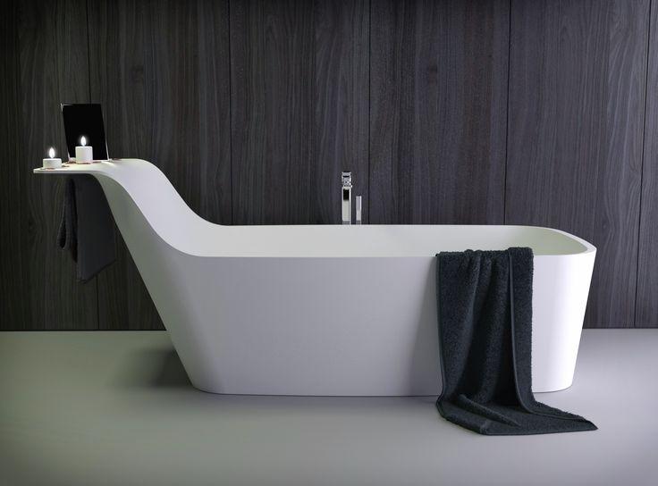 39 besten Bathroom Minimalist K-Stone Bilder auf Pinterest - freistehende badewanne einrichten modern