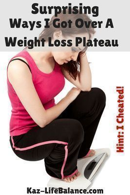 Have you hit a weight loss plateau?