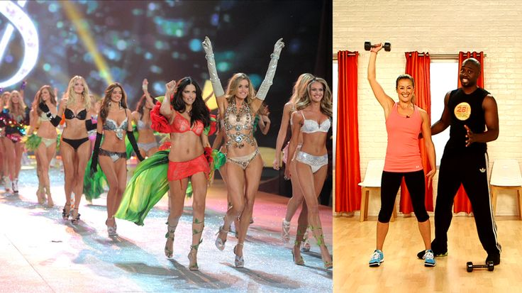 Supermodel body workouts - thank you fit sugar!