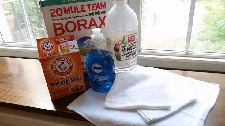 She removes a stain in seconds with just a few surprising ingredients